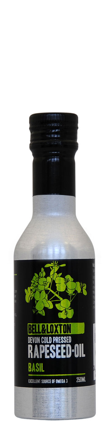 Basil Devon Cold Pressed Rapeseed Oil