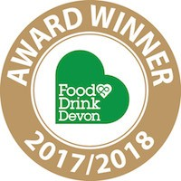 Food and Drink Devon Award Winner 2018